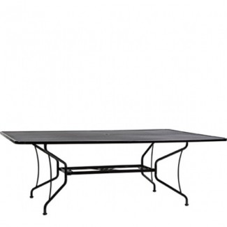 "Premium Mesh 60"" x 84"" Rectangular Umbrella Table"