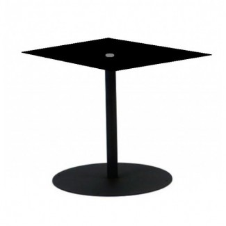 Wrought Iron Restaurant Tables Solid Pedestal 36