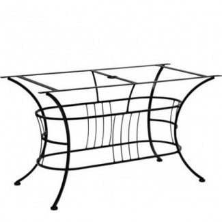 Easton Large Wrought Iron Dining Table Base