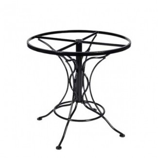 Universal Wrought Iron Round Dining Table Base