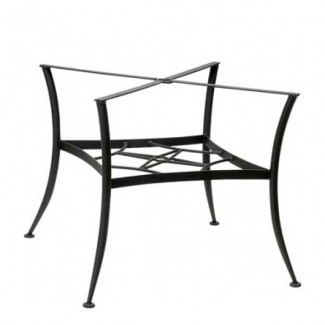 Universal Wrought Iron Square Dining Table Base