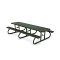 10' Plastisol Portable Picnic Table