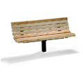 6' Single Post Commercial Bench - Douglas Fir M121-6