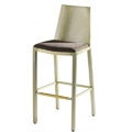 Micah Bar Stool with Upholstered Seat