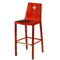 Micah Bar Stool with Diamond Back