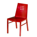 Micah Side Chair with Mini Square Back