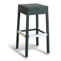 Asbury Backless Bar Stool