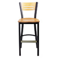 Bar Stool with Upholstered Seat 952