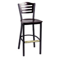 Bar Stool with Upholstered Seat 953