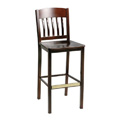 Bar Stool with Upholstered Seat 981