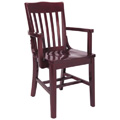 Beechwood Arm Chair WC-1423VR