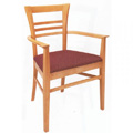 Beechwood Arm Chair WC-573UR