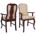 Beechwood Arm Chair WC-838UR with Picture Back
