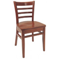 Beechwood Side Chair WC-554VR All Wood