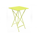 Bistro Square Folding High Bar Table