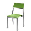Chairaz Aluminum Nesting Side Chair