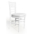 Chiavari Stacking Chair - White