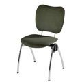 Congresso Steel Stacking Side Chair 681