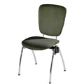 Congresso Steel Stacking Side Chair 683