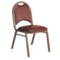 Custom Banquet Chair with Handhold