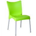 Juliette Stacking Restaurant Side Chair in Light Green