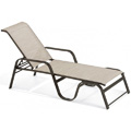 Key West Sling Stacking Chaise Lounge M7229R