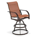 Key West Sling Swivel Bar Stool M8013R
