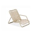 Lido Crossweave Strap High Back Nesting Sand Chair M4006CWHB