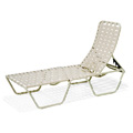 Lido Crossweave Strap Nesting Chaise Lounge M3105CW