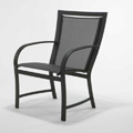 Metropolitan Sling High Back Dining Chair