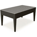 Miami Resin Coffee Table - Brown