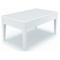 Miami Resin Coffee Table - White