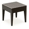 Miami Restaurant Side Table in Brown
