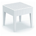 Miami Resin Side Table - White