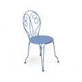 Montmartre Stacking Bistro Side Chair with Perforated Seat