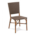 Nantucket Rattan Stacking Side Chair