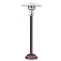 Natural Gas Patio Heater Antique Bronze with Push Button Ignition NC05AB