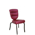 Nesting Steel Side Chair with Horseshoe Channel Back CF5501-A