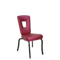 Nesting Steel Side Chair with Open Horseshoe Back CF5502-A