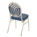 Premium Comfort Regency Steel Stacking Side Chair 590-WB