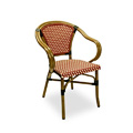 Provence Rattan Nesting Arm Chair