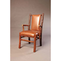Recessed Hickory Arm Chair CFC619