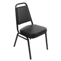 Stacking Dining Chair - Black SL2082-BLK