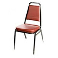 Stacking Dining Chair - Wine SL2082-WINE