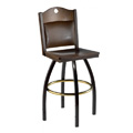 Schoolhouse Swivel Bar Stool 901/982-UB