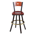 Americana Woods Swivel Bar Stool 902/951