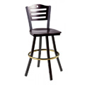 Swivel Bar Stool with Wood Seat 902/953