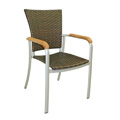 Tampa Rattan Stacking Arm Chair