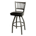 Vertical Back Metal Bar Stool SL2090-S