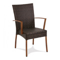 Vineyard Rattan Stacking Arm Chair